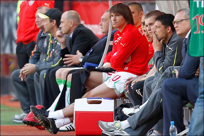 Дмитрий Лоськов в запасе