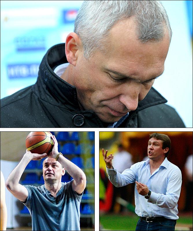 Олег Протасов, Владимир Лютый и Андрей Талалаев