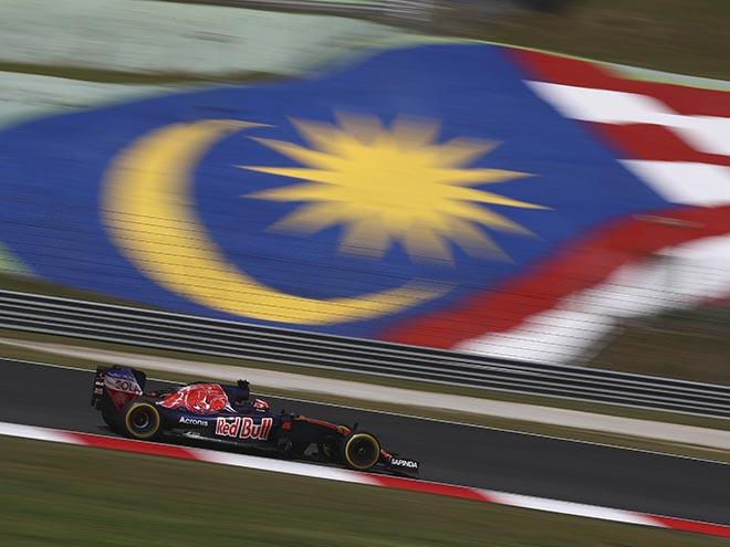 Даниил Квят на гран-при Малайзии