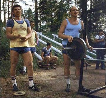 Олег Знарок: тяжелые рижские тренировки