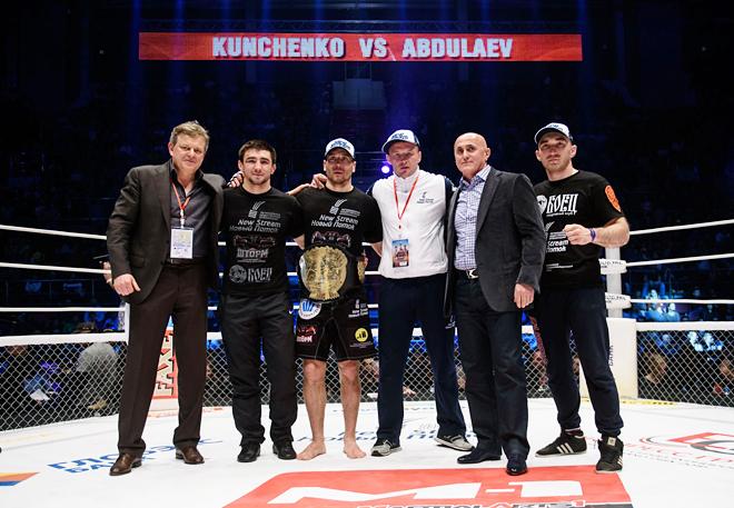 Алексей Кунченко со своей командой