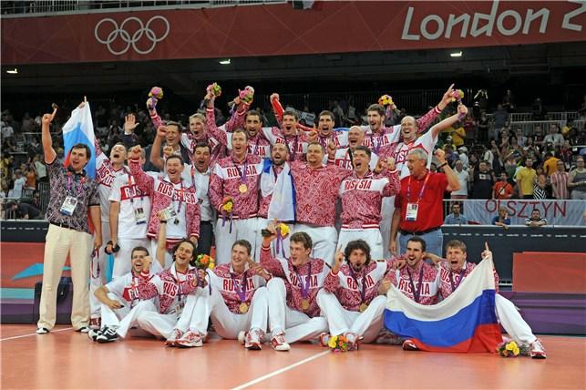 Сборная России — олимпийский чемпион-2012