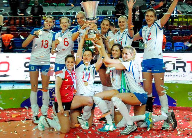 В 2014 году «Заречье» победило в Кубке Вызова