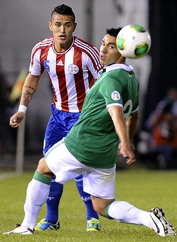 ЧМ — 2014. Отборочные матчи. Южная Америка. Парагвай – Боливия – 4:0