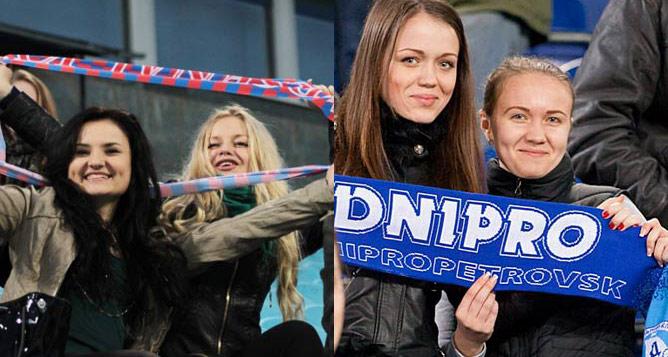 """""""Арсенал"""" и """"Днепр"""" не остались без женского внимания"""