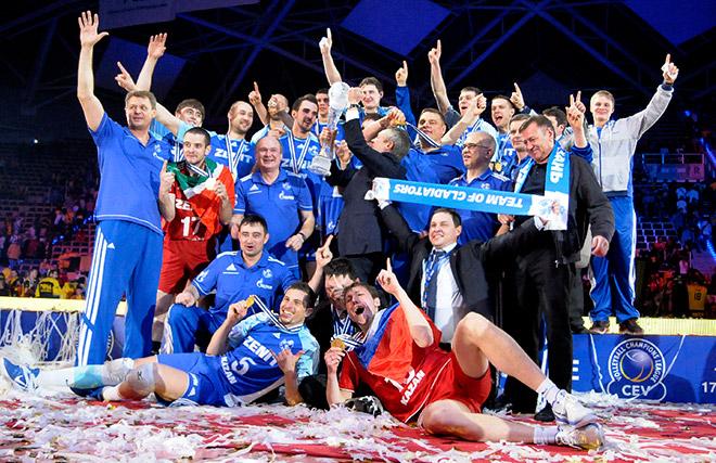 В 2012 году лучшим в Европе стал казанский «Зенит»