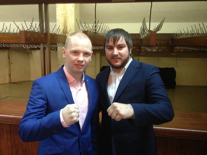 Алексей Тищенко и Константин Устьянцев