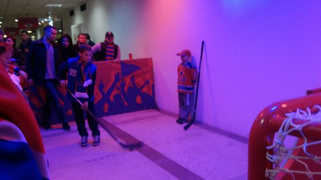 Хоккей для маленьких болельщиков