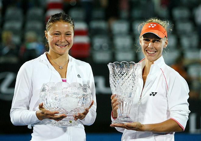 Российский финал Сиднея-2009: финалистка Динара Сафина и Елена Дементьева, которая в 2010-м защитила титул