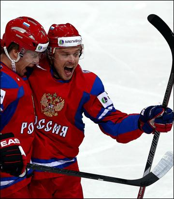 Антон Белов в сборной России