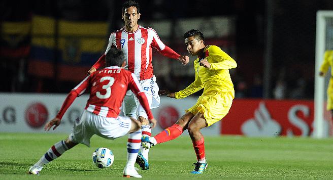 Играют Парагвай и Эквадор