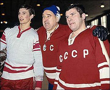 Владислав Третьяк, Анатолий Тарасов и Виктор Коноваленко
