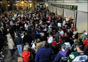 """Итоги сезона НХЛ. """"Миннесота Уайлд"""". Сент-Пол, обычная картина"""
