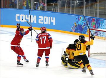 9 февраля 2014 года. Сочи. Хоккей. Женщины. Групповой турнир XXII Зимних Олимпийских игр. Россия — Германия — 4:1