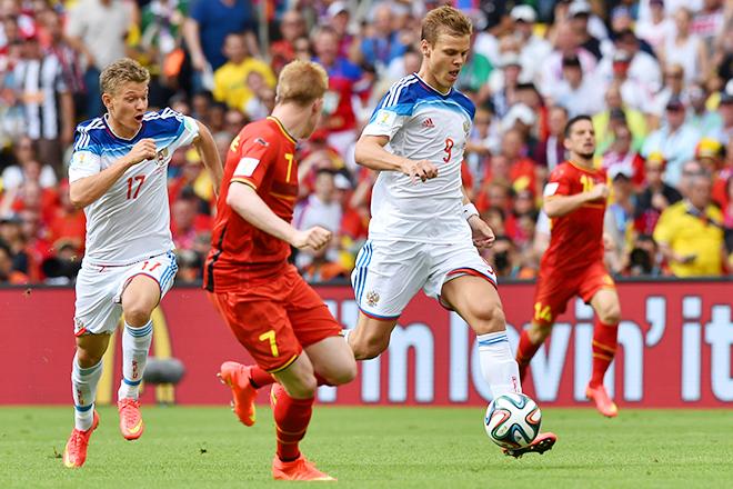 Только у сборной России из всех 32-х сборных равный баланс по владению мячом