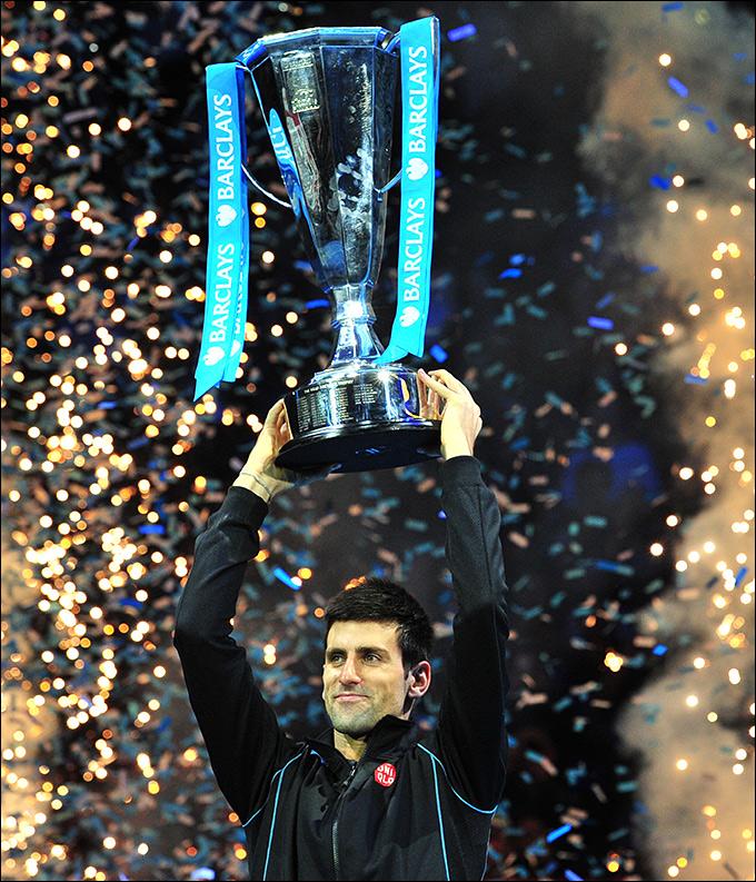 Новак Джокович вновь стал чемпионом Лондона