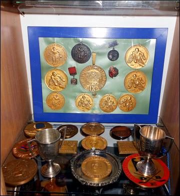 Медали Виктора Коноваленко. Небольшая часть
