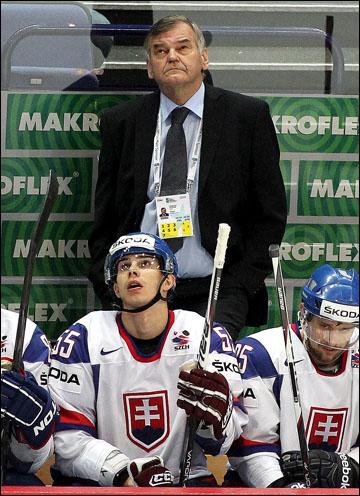 Главный тренер сборной Словакии Владимир Вуйтек