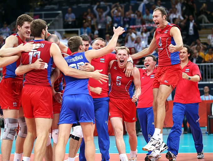 Эмоции сборной России
