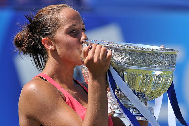 Кис выиграла свой первый турнир WTA