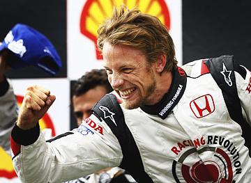 Дженсон Баттон — победитель Гран-при Венгрии 2006