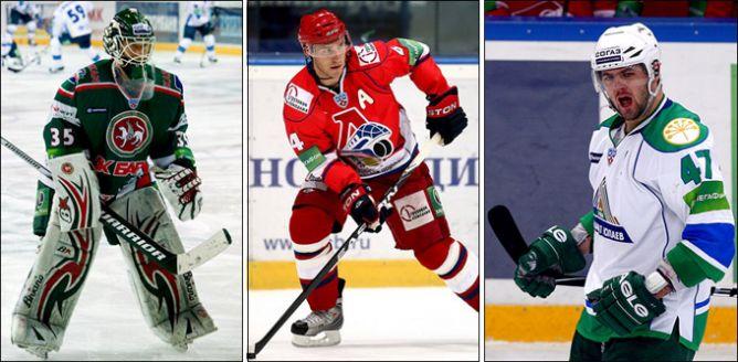 Петри Веханен, Карел Рахунек и Александр Радулов – три богатыря КХЛ в феврале.