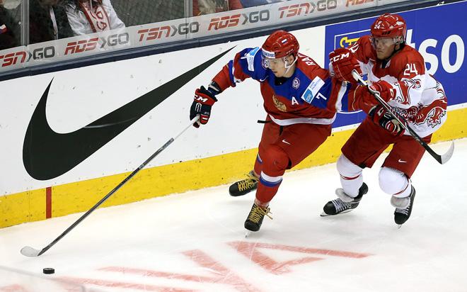 Рушан Рафиков вернулся из Торонто и стал лучшим защитником недели в ВХЛ