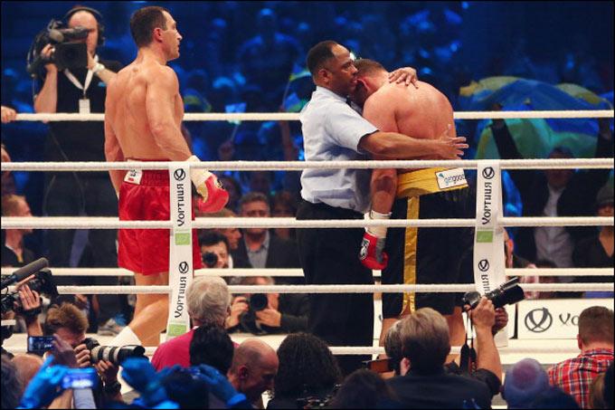 Шестой раунд: победа украинца