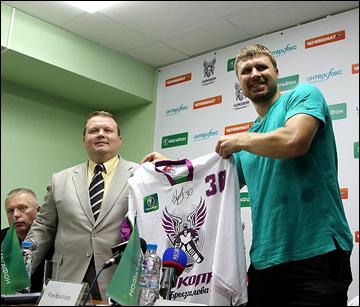 Школа вратарей Ильи Брызгалова в Ярославле. Третий сезон. Открытие