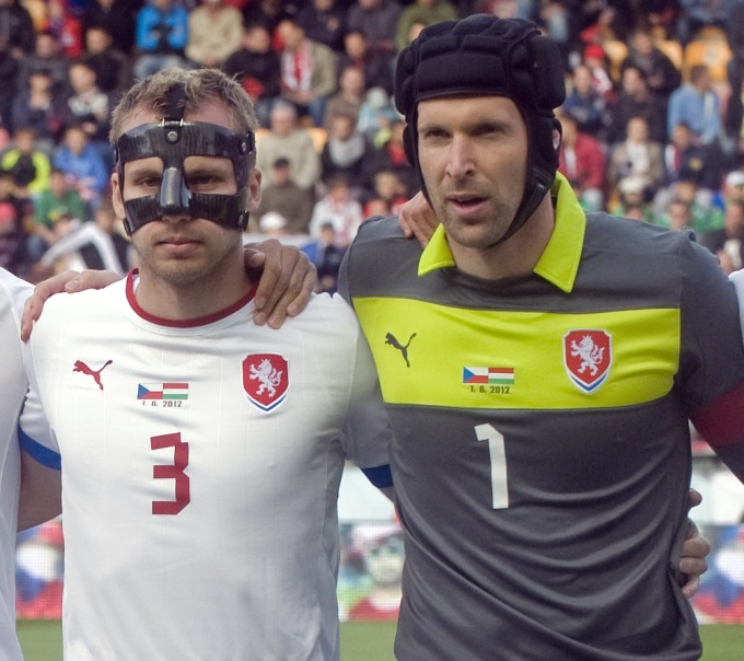 Михал Кадлец и Петр Чех
