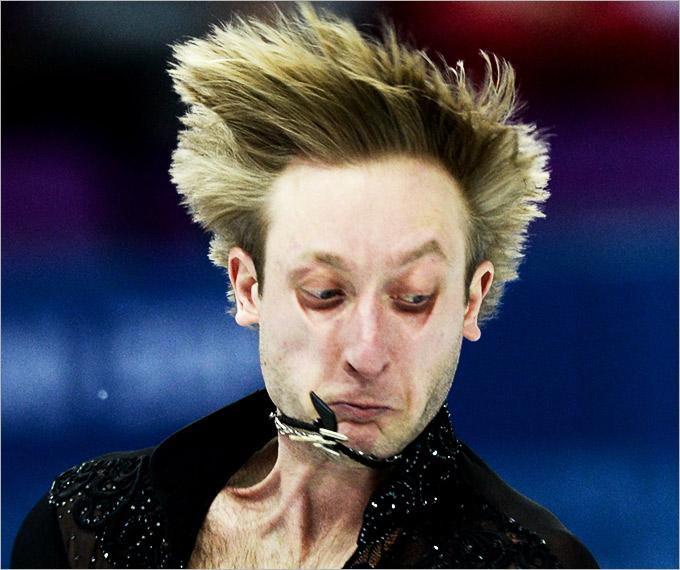 10 самых смешных гримас фигуристов на Олимпиаде в Сочи