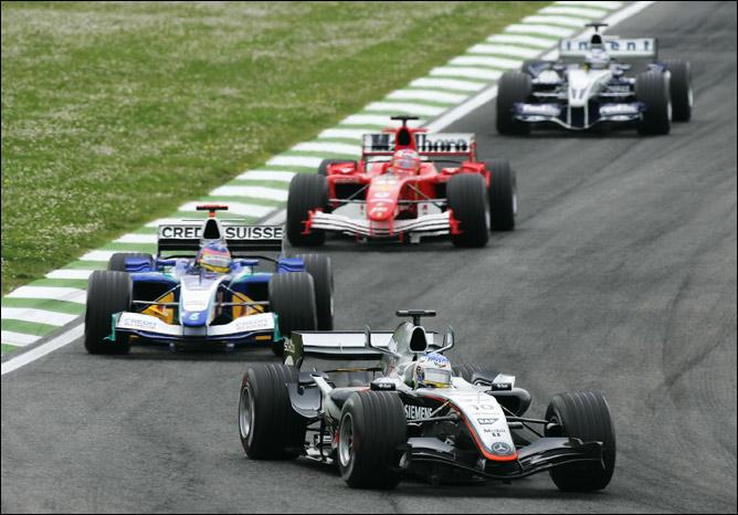 Вурц на Гран-при Сан-Марино 2005 года