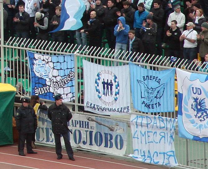 """Фанаты """"Зенита"""" до сих пор не простили Владимира Быстрова."""