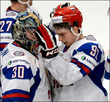 Константин Барулин (слева) и Евгений Кузнецов