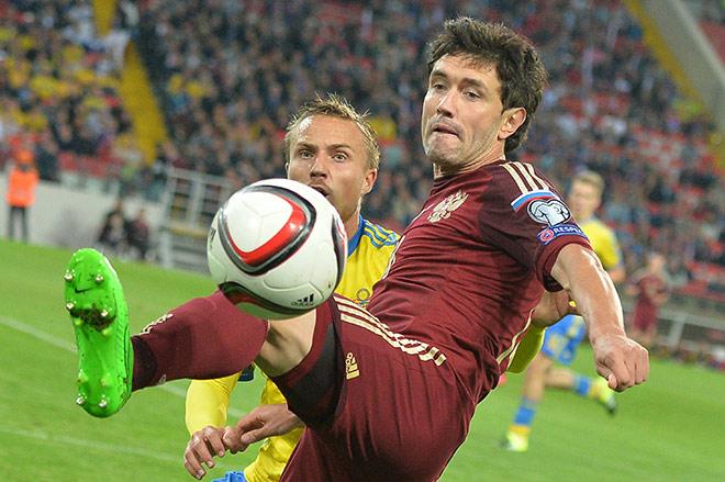 Юрий Жирков в сборной России