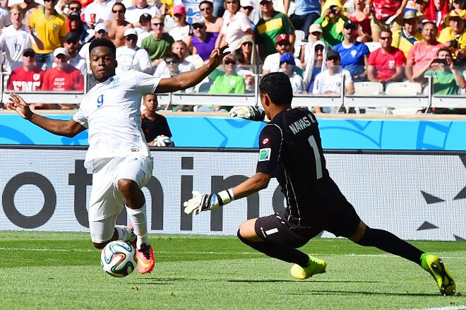 Всего 12 ударов было произведено по воротам в фактически товарищеской игре Коста-Рика – Англия