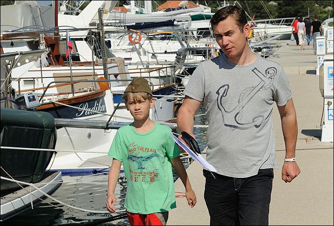 Олег Гусев приехал на Mayhollydays со своим сыном