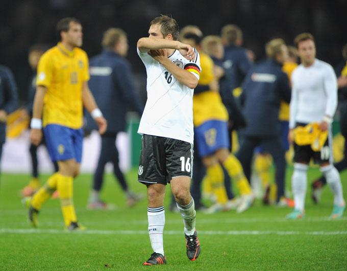 Германия упустила победу в матче со Швецией, ведя в счёте 4:0