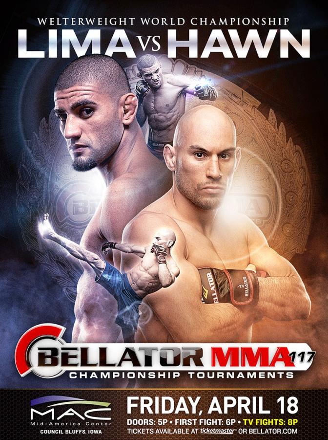 Постер к турниру Bellator 117