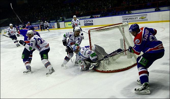 30.10.2010. КХЛ. Сибирь - Торпедо - 2:0. Фото 02.