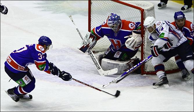 30.10.2010. КХЛ. Сибирь - Торпедо - 2:0. Фото 03.