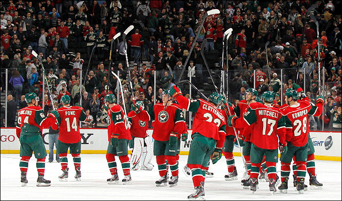 """Итоги сезона НХЛ. """"Миннесота Уайлд"""""""