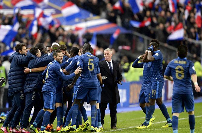 19 ноября. Париж. Франция — Украина — 3:0