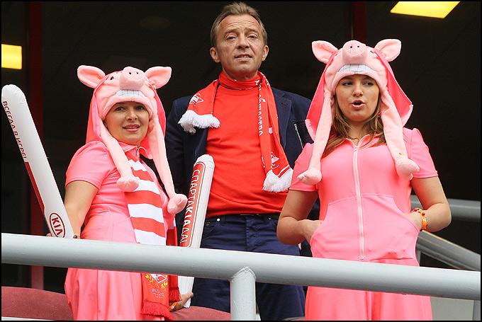 Новая мода спартаковских болельщиков
