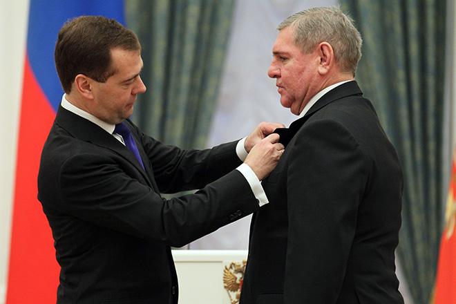 Дмитрий Медведев и Владимир Крутов