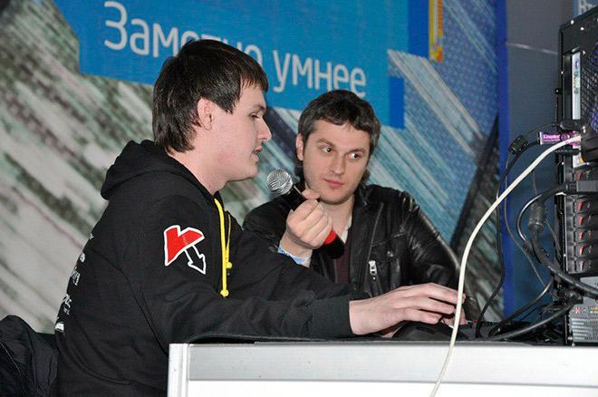 Александр «ХВОСТ» Дашкевич и Александр «ZeroGravity» Кохановский