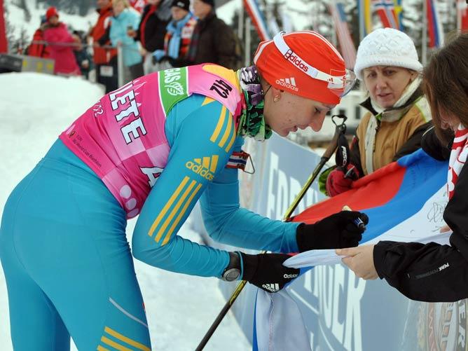 В воскресенье Елена Подгрушная выиграла свою вторую золотую медаль на чемпионате Европы