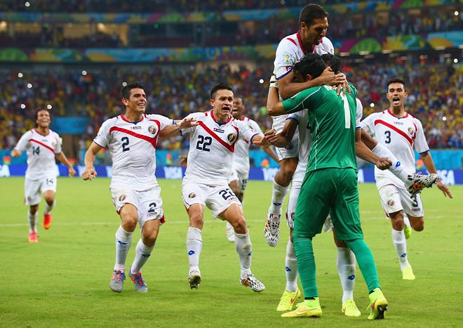 Серия послематчевых пенальти в матче Коста-Рика — Греция