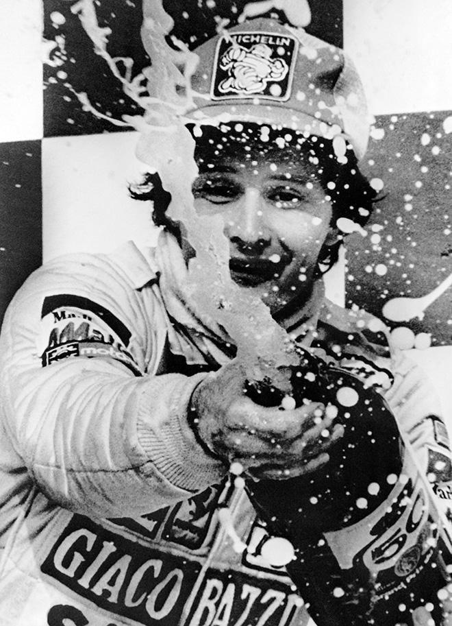 Жиль Вильнёв быстро начал добиваться успехов в Формуле-1