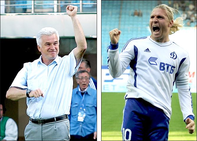 Сергей Силкин и Андрей Воронин